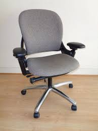 most comfortable computer chair. Steelcase Leap V1 Chair MOST COMFORTABLE COMPUTER CHAIR 100% Wool Cover Chrome Base Most Comfortable Computer R