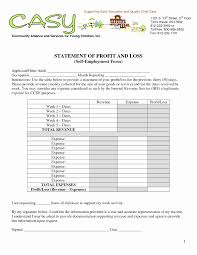 Year To Date Profit And Loss Statement Template Free Profit And Loss Statement Template Personal Ytd Sample