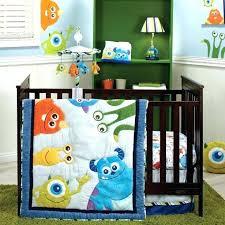 monsters inc crib set monster inc baby bedding set baby monsters inc crib bedding designs monster