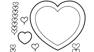 Small Picture valentines day heart coloring page valentines day hearts to color