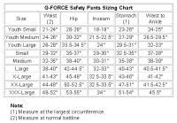 G Fore Size Chart G Fore Size Chart Find G