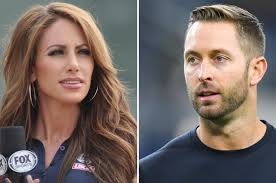 Holly Sonders and new Cardinals head coach Kliff Kingsbury are ...