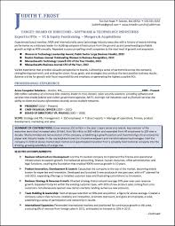Non Profit Cover Letter Sample New Board Of Directors Resume Example