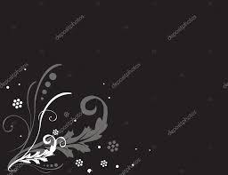 黒の背景にシンプルな花 ストックベクター Vshivkova 2822813