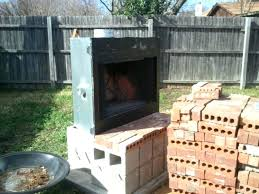 how to build an outdoor fireplace with cinder blocks how to build an outdoor fireplace home