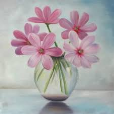 pink flower hand oil painting canvas wall art on canvas wall art pink flowers with china pink flower hand oil painting canvas wall art china oil