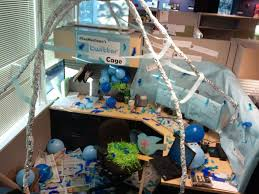 decorated office. Office Cube Decorated Twitter Bird Cage Complete I