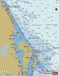 Ponce De Leon Inlet To Cape Canaveral Marine Chart
