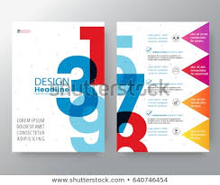 Business Templates Creative Design Abstract Swiss Stock Vector