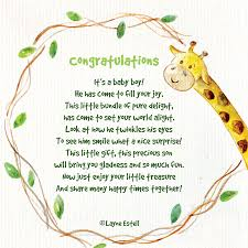 Congratulations On Your Baby Boy Congratulations Its A Baby Boy Seasonal Words With Layne Estell