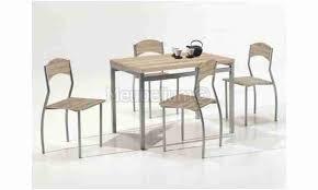 Ensemble Table Et Chaise Pas Cher Frais Ensemble Repas Table Et 4