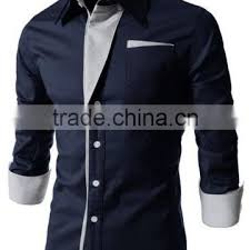 Shirts With Pants Wholesale Custom Plain Men Unique Dress Shirts Matching