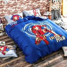 marvel iron man comforter twin bedding avengers bed set sets queen sail boys double beddi