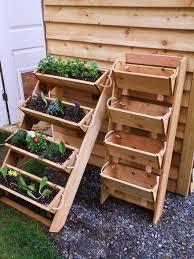 16 cedar herb tomato flower and strawberry gardening window box planter kit