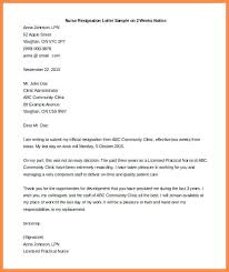 Nurse Resignation Letter Classy Resignation Letters For Nurses Resignation Letter 48 Week Notice
