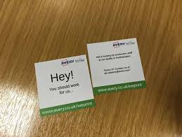 Get Recruiting With Brand New Recruiting Business Cards Avery Weprint