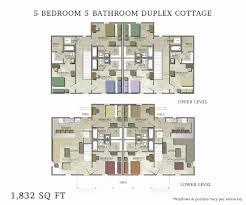 architecture duplex house plans luxury 5 bedroom cottage house plans unique new orleans house floor plans