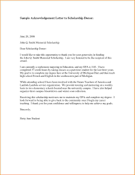 7 Thank You Letter For Financial Support Receipts Template