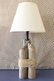 Driftwood Table Lamp / Nautical Table Lamp / by StrollinTheBeach