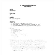 Blank Lesson Plan Template New Easy Lesson Plan Template Word Lesson Plan Format Elementary