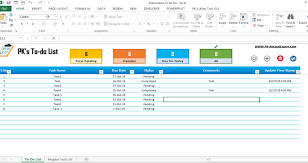 Todo List In Excel Fully Functional To Do List In Excel Pk An Excel Expert
