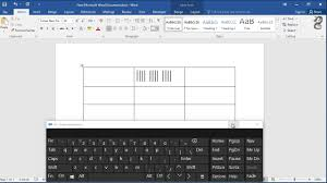 How To Make Tallies In Word How Do I Create Tally Marks In A Word Document