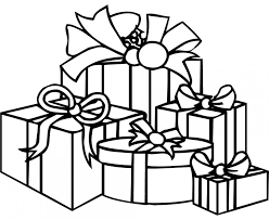 Small Picture Coloring Pages Presents Coloring Page Printable Christmas Present
