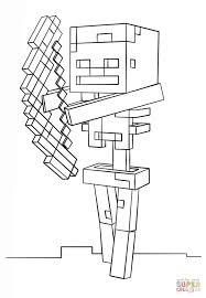 Ithin Minecraft Kleurplaat Enderdra Minecraft Kleurplaten