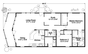 The Metolius Cabin N5P264K1 Home Floor Plan  Manufactured Andor Vacation Home Floor Plans