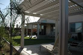 free standing aluminum patio cover. Solid \u0026 Lattice Alumawood Free Standing Aluminum Patio Cover O