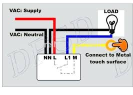touch switch for lamps with wiring diagram touch lamp sensor wiring diagram on off touch switch to led lamp accessories in switches from touch lamp sensor wiring diagram