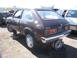 Junkyard Find: 1977 Chevrolet Chevette - The Truth About Cars