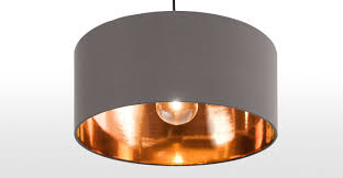 Sofas Couches Hue Pendant Shade, Grey & Copper | Made Ottomans & Storage  Dining Tables Video Game ...