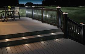 deck lighting ideas. backyard recessed deck lighting ideas t
