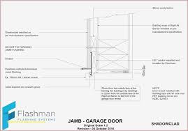 elegant sectional garage door cad details nz best of choice