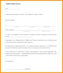 Authorization Letter Format For Company Representative Best Of 9 ...
