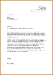 Deputy Director Cover Letter Sample Best Ideas Of Sample Cover