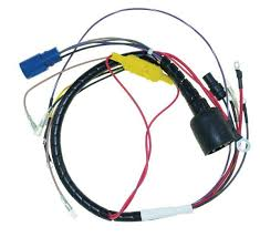 cdi engine wiring harnesses marine engine parts fishing tackle wiring harness johnson evinrude 40 50 hp 2 cyl 584218