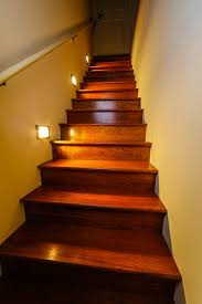 led stairwell lighting. Led Staircase Lighting Traditional St Louis Stairwell