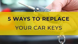 5 ways to get replacement car keys