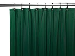 royal bath 3 gauge waterproof and mildew resistant vinyl shower curtain liner 70 x