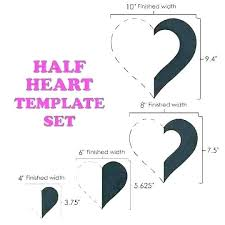 8 X 10 Heart Template 4 Inch Heart Template 3 Love Gift Box Cube Pixel 5 Printable