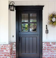 Image Craftsman Dutch Craftsman Dutch Doortransitional Exterior San Francisco Houzz Craftsman Dutch Door Transitional Exterior San Francisco By