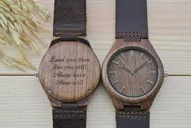 Watch Engraving Quotes Awesome Personalized Engraved Wooden Watches WoodChroNos