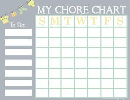 Printable Free Printable Chore Chart For Kids Free Printable Chore Chart For Kids Printable Chore Chart