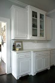 Glass Front Kitchen Cabinets Kitchen Transitional With Bungalow Casual  Elegance Elegant