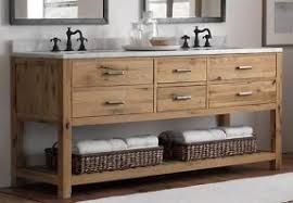 Attractive Wood Bathroom Vanity Pertaining To Rustic Modern Vanities