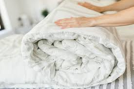 how to wash a heavy comforter