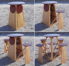 space friendly furniture. quad micro bar by joe warren space saving furniture for tiny homes 600x573 house friendly