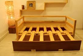 Sofa extendable bed 3 | Bench | Wooden sofa, Sofa bed, Bed